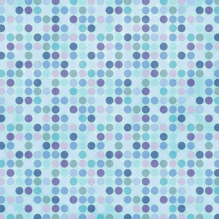 Бумага Winter Dots для скрапбукинга