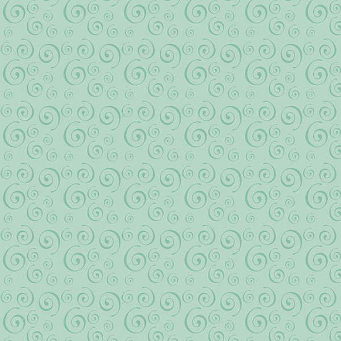 "Бумага ""Soft Tints Green Swirls"" для скрапбукинга"