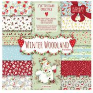 Набор бумаги Winter Woodland, 15 х 15 см