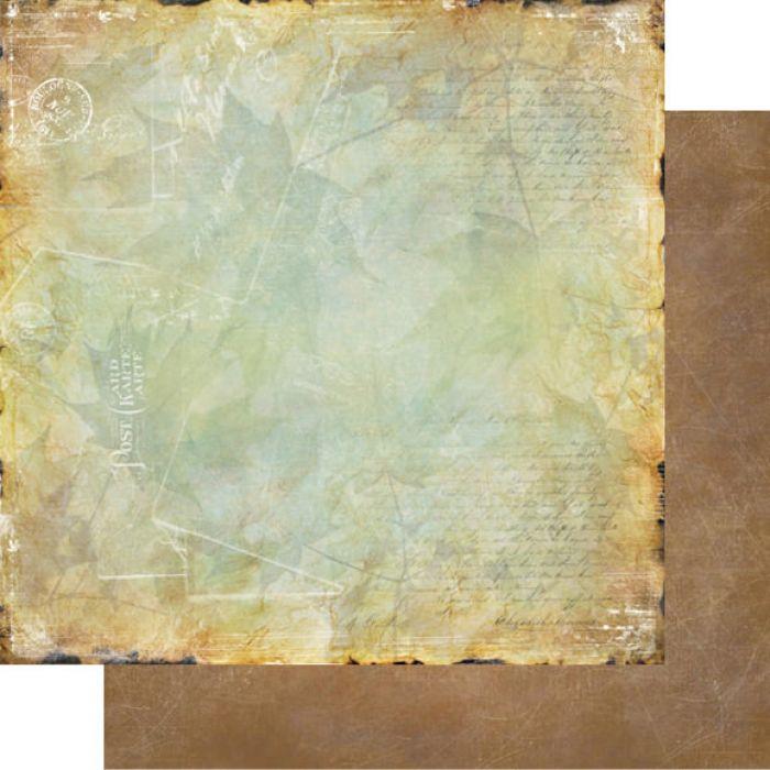 Бумага 005, коллекция Медовый пунш для скрапбукинга