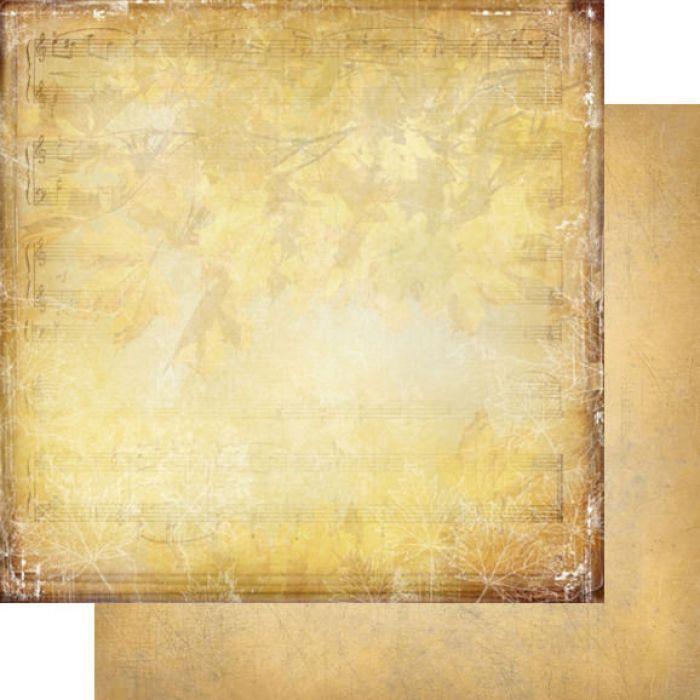 Бумага 006, коллекция Медовый пунш для скрапбукинга