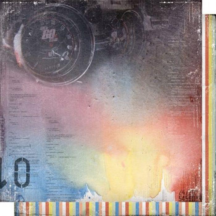Бумага 001, коллекция Автопарк для скрапбукинга