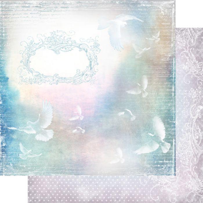 Бумага 001, коллекция Невесомость для скрапбукинга