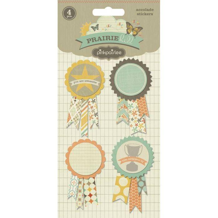 3-D наклейки accolade stickers из коллекции Prairie Hill для скрапбукинга