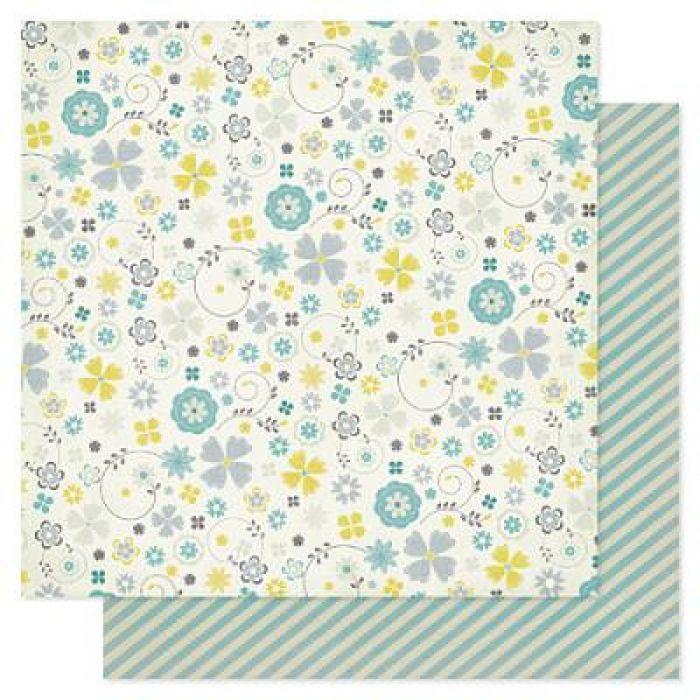 Бумага, коллекция  Indigo Bleu, Denim для скрапбукинга