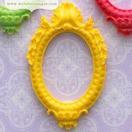 Пластиковая фигурка Желтая Рамка