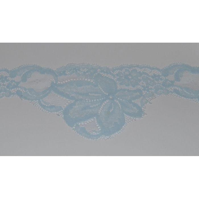 Кружево капроновое светло-голубое для скрапбукинга