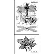 Штамп Dragonflies