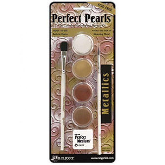 Набор пудр Perfect Pearls, METALLICS для скрапбукинга