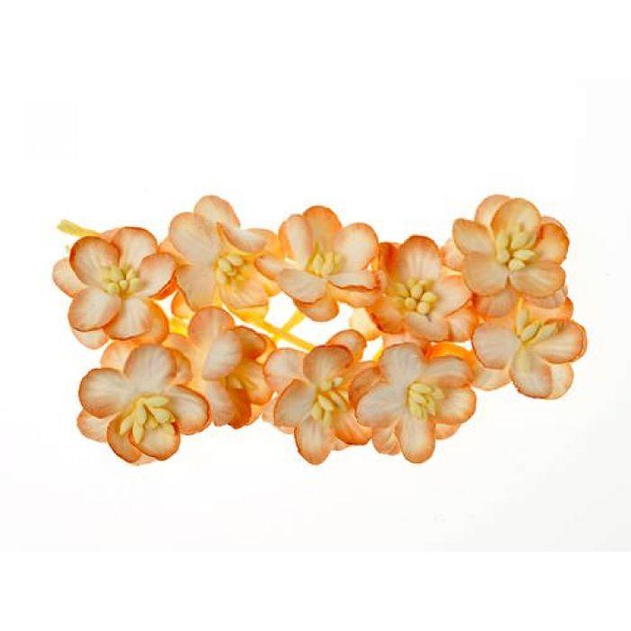 Цветки вишни персиковые для скрапбукинга