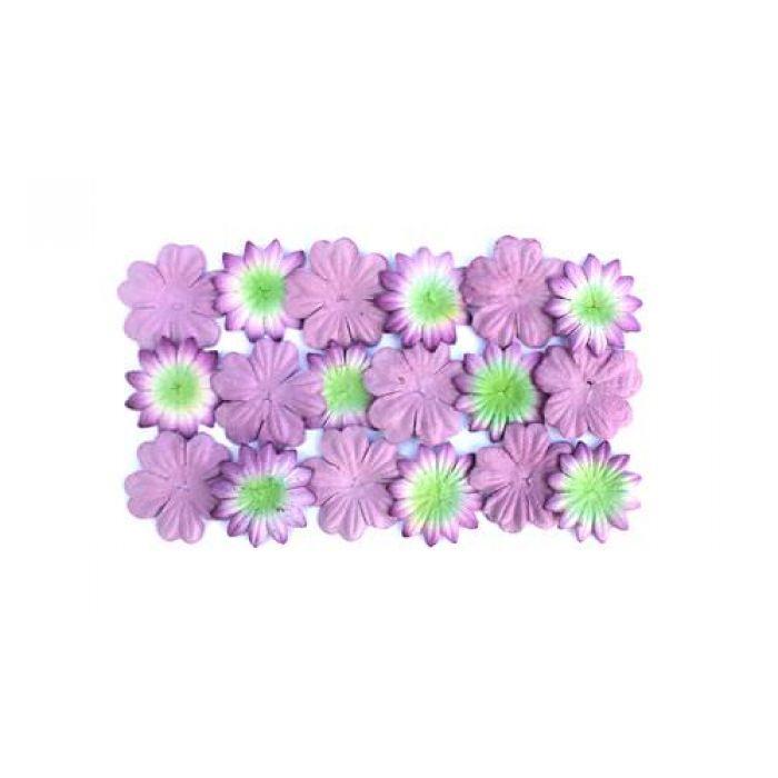 Цветы лавандового цвета - 20 штук для скрапбукинга