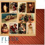 Бумага cтаринные открытки из коллекции ожидание праздника