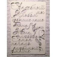 Набор чипборда №1, коллекция Свадебная