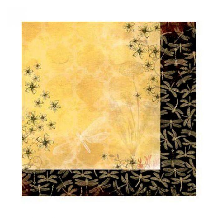 Бумага Sunrise, коллекция Serenade для скрапбукинга