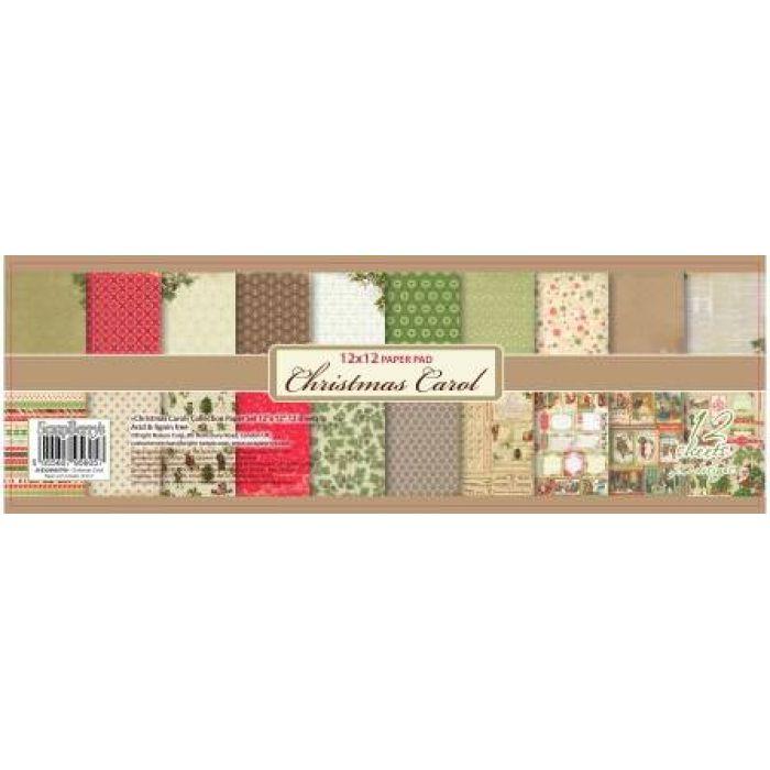 Набор бумаги, коллекция Ночь перед Рождеством, 30,5 х 30,5 см для скрапбукинга