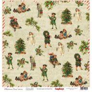 Бумага Рождество, коллекция ночь перед Рождеством