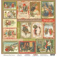 Бумага волшебная история, коллекция ночь перед Рождеством
