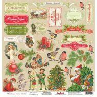Бумага Рождественские Подарки, коллекция Ночь перед Рождеством