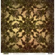 Бумага Стрекозы, коллекция Стимпанк