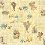 Бумага Незабудка, коллекция Весенний Праздник