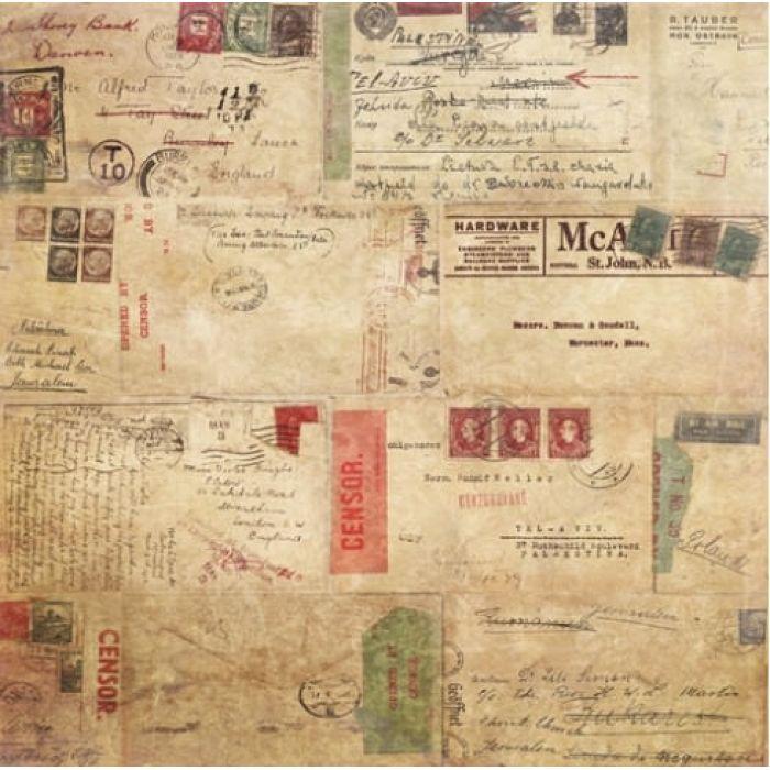 Бумага Военная Тайна, коллекция Точка Невозврата для скрапбукинга