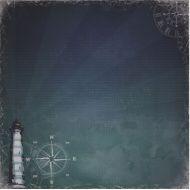 Бумага Сказки старого маяка, коллекция Там где Море