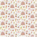 Бумага Десерт, коллекция С Днем Рождения!