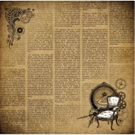 Бумага альтернативная реальность, коллекция механические иллюзии