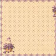 Бумага Цветочная поляна, коллекция Весенний Праздник