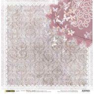 Бумага Бабочки, коллекция Свадебное кружево