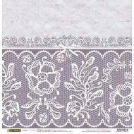 Бумага Бантик, коллекция Свадебное кружево