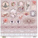 Бумага Декор, коллекция Свадебное кружево