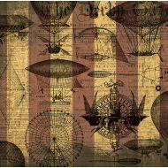 Бумага Воздухоплавание, коллекция Стимпанк