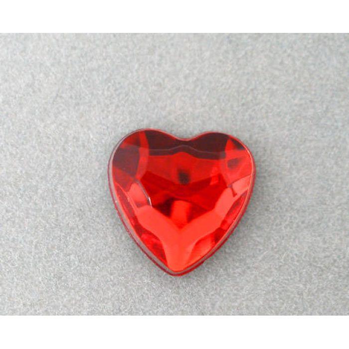 Сердечки красные для скрапбукинга