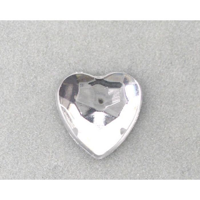 Сердечки прозрачные для скрапбукинга