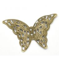Металлическая бабочка