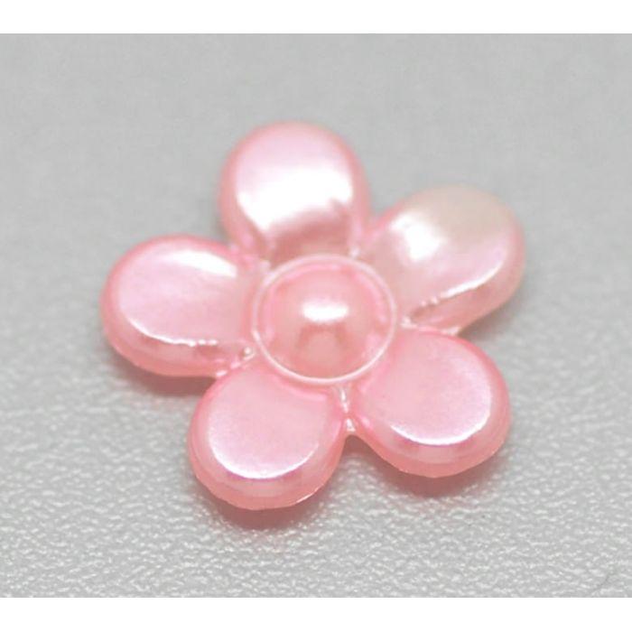 Цветочки жемчужные светло-лососевые для скрапбукинга