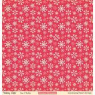 Бумага Snow & Mistletoe, коллекция Holiday style