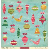 Бумага Deck the Hallse, коллекция Holiday style