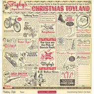 Бумага Toyland, коллекция Holiday style