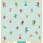 Бумага Oh, What Fun!, коллекция Holiday style