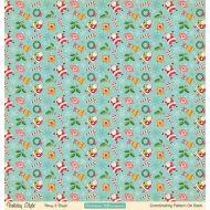 Бумага Merry & Bright, коллекция Holiday style