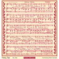 Бумага Silver Bells, коллекция Holiday style