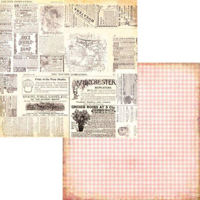 Бумага Collage, коллекция Hopscotch для скрапбукинга