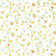 Отрез ткани Yellow, коллекция Дикие цветы