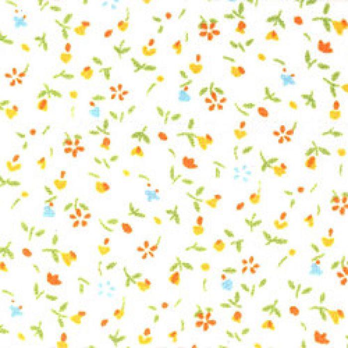 Отрез ткани Yellow, коллекция Дикие цветы для скрапбукинга