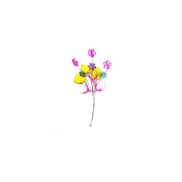 Набор Цветочная ветвь сиреневая для скрапбукинга