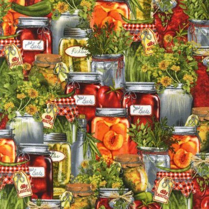 Отрез ткани, коллекция Любимая кухня для скрапбукинга