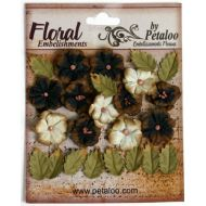 Набор цветов Дарджилинг маленькая черно-кремовая