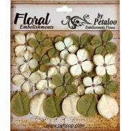 Набор цветов Дарджилинг гортензия зелено-кремовая